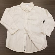 Janie and Jack Boys Toddler 3T White Button Down Shirt