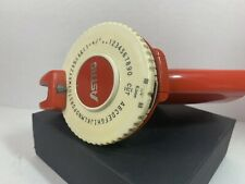 Vintage Astro Label Maker Red Color 14 Tape Size Made In Usa