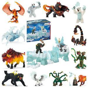 Schleich Eldrador Schleich Lava Fire Ice Monster Robots - Choice