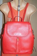 MICHAEL KORS BEDFORD DRAWSTRING BACKPACK PEBBLED LEATHER SIENNA COLOR NWT $428