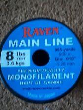 Raven Center Pin Float Fishing Main Line hi-Vis yellow #8