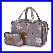 Travel Makeup Bag Toiletry Bags Large Cosmetic Cases For Women Girls Water Resis