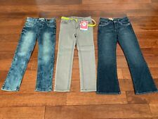 Girls Jeans Size 6X by MUDD, LEVI'S, CIRCO New with Tags
