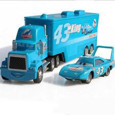 Disney King Pixar Cars 43 HAULER DINOCO Mack Super Liner Truck Diecast Toy EL