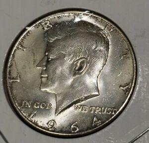 1964 kennedy half dollar toned