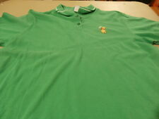 Disney Polo Shirt Size Small Winnie the Pooh Green Huggable Embroidered