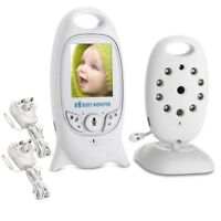"GENUINE 2"" Baby Monitor 2.4GHz Audio Talk Night Vision Wireless Digital Video Kj"