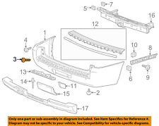 GM OEM-Bumper Trim-Outer Molding Right 22933606