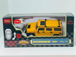 NKOK 1:32 Battery Powered 2 Function Remote Control Hummer H2 SUV