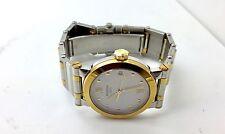 Movado Vizio Stainless Steel 18k Gold Two Tone Watch Jewelry Unisex