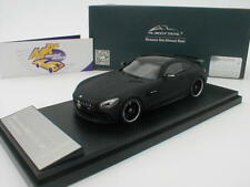 Almost Real 420710 - Mercedes-Benz AMG GT R Baujahr 2017 in Leather Black 1:43