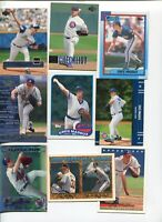 GREG MADDUX  ATLANTA BRAVES CHICAGO CUBS 30 DIFFERENT BASEBALL CARD LOT