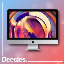 "27-Inch iMac Retina Apple 32GB Ram 5k 3.1Ghz i5 6-core 512GB SSD Windows 10 """