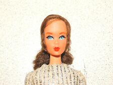 Barbie:  VINTAGE Brunette NAPE CURL TALKING BARBIE Doll!