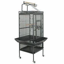 61'' Large Bird Cage Play Top Bird Parrot Finch Cage Macaw Best Pet Bird Supply