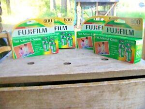 FUJIFFILM SUPERIA X-TRA 800 35MM FILM- NEW IN BOX 4X24 exp.