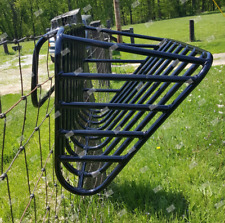 Hanging Hay Fence Feeder Rack for Horses Alpacas Llamas Goats Sheep