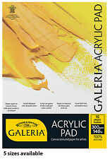 Winsor & Newton Galeria Acrylic Painting Paper Pads in Assorted Sizes