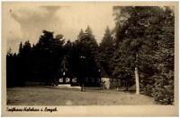HOLZHAU Erzgebirge Sachsen alte AK Echtfoto-AK Partie am Torfhaus ungelaufen