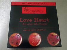 SEXY GIFT RED HOT LOVER HEART SHAPED HEAT PACK ROMANTIC LOVER Brand New in box
