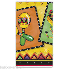 "54 ""x 84"" Wild West Messicano FIESTA FESTIVITY Partito Plastica Tavola COVER"