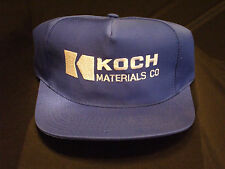 Koch Materials Company. ball cap