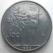 1982   Repubblica Italiana   100   lire     tondello difettoso