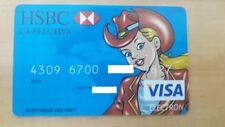 MEXICO - VISA - HSBC - EXPIRED - BANK CARD - PRETTY GIRL