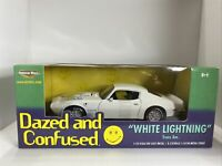 2002 ERTL American Muscle Dazed Confused 1/18 White Lightning 1973 Trans Am NIB