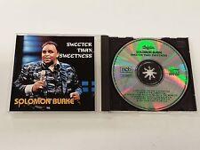 SOLOMON BURKE SWEETER THAN SWEETNESS CD