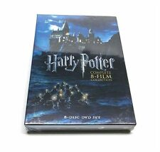 Harry Potter Movie 1-8 Complete 8 Movie Collection DVD Box Set 1 2 3 4 5 6 7 8