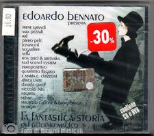 EDOARDO BENNATO - LA FANTASTICA STORIA Anno 2005 CD + DVD ***SIGILLATO***