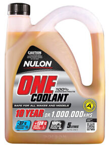 Nulon One Coolant Concentrate ONE-5 fits Peugeot 206 1.4 16V (65kw), 1.4 i (5...