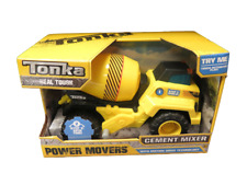 Tonka Truck Power Movers Cement Mixer Construction w/ Motion Drive