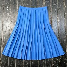 Vintage 1950s MACSHORE CLASSICS Royal Blue Pleated A-Line Uniform Skirt