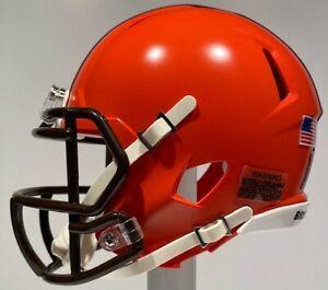 CLEVELAND BROWNS ODELL BECKHAM JR. - OBJ - CUSTOM MINI RIDDELL NFL HELMET - LSU