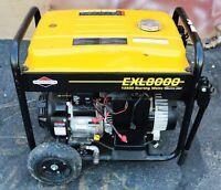 Briggs & Stratton Portable Generator EXL8000 13500 Starting Watts Model 030244
