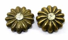 Pair Of Vintage Collectible Melon Solid Bronze Opium Weight Scales. G15-136 US