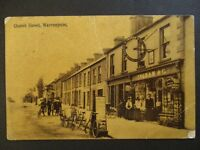 1908 Church Street Warrenpoint Co Down ireland Real Picture Postcard Cover
