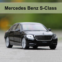 1/24 Mercedes Benz S-Class Diecast Model Cars Toys Replica Collection By WELLY
