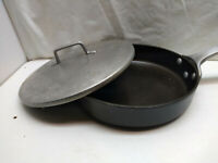 "Magnalite GHC Commercial Hard Anodized 10 "" Skillet Fry Saute Pot Saucepan Lid"