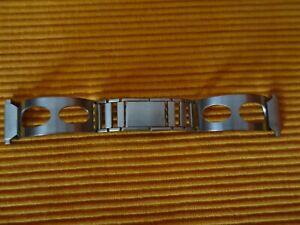 NEUF DE STOCK2 Année 60 VINTAGE - Bracelet type ZRC Racing métal NOS WATCH Strap