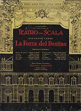 3 LP OPERA BOX- LA FORZA DEL DESTINO-CALLAS, TUCKER/SERAFIN-1954 ANGEL CRISP VG+