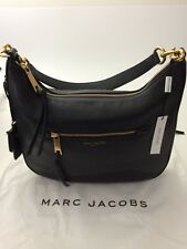 Marc Jacobs | Recruit Leather Hobo Bag | Black | MSRP $495 | NWT