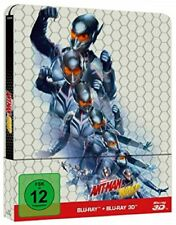 Ant-Man and the Wasp 3D Steelbook 3D Blu-ray + 2D Limited Edition NEU OVP
