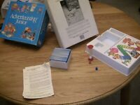 Vintage Adverteasing Junior 1989 Trivia Board Game 100% Complete