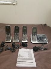 Panasonic KX-TG7731 Cordless Phone Bluetooth System 4 Handsets