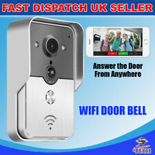 Wireless WiFi Remote Video Camera Door Phones Doorbell Intercom Monitor Security