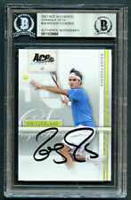 Roger Federer #34 signed autograph 2007 Ace Authentic Straight Sets Card BAS