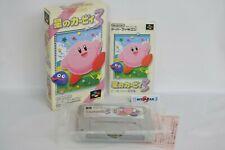 Star Kirby 3 Réf / 036 Super Famicom Nintendo Sf